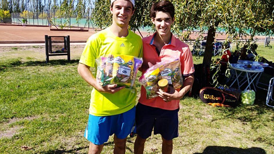 Tenis: en Palmares y San Rafael, mañana habrá campeones de Primera