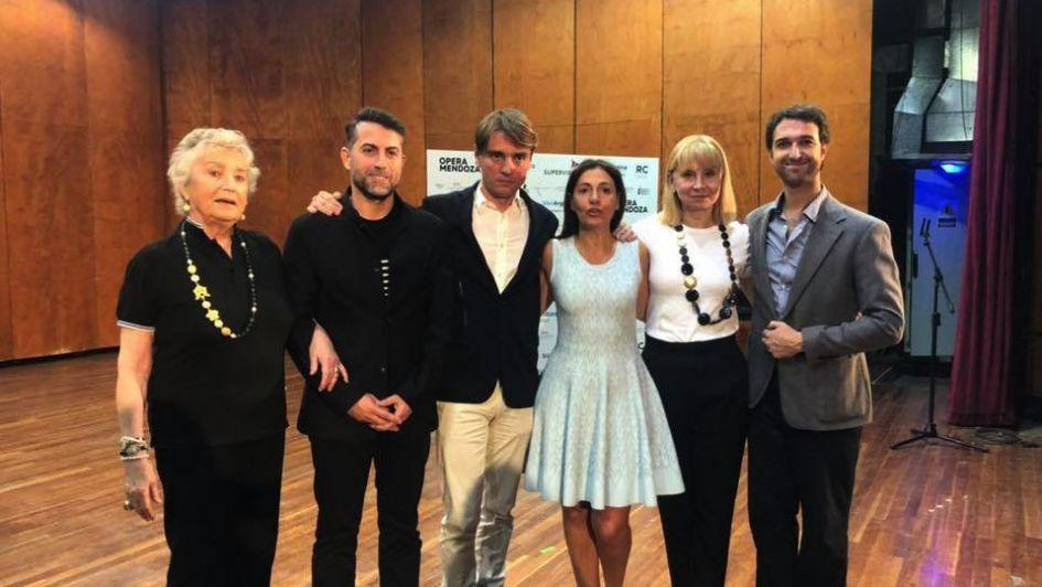 Los ganadores del primer Concurso de Canto Lírico de Mendoza