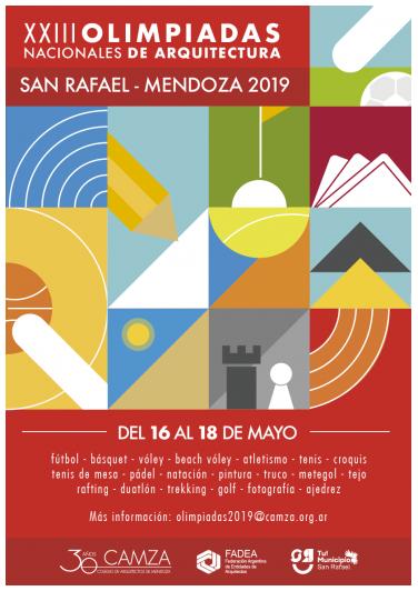 XXIII Olimpíadas Nacionales de Arquitectos, organizadas por el CAMza