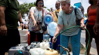 Problema. El estado venezolano controla el reparto del agua, aunque por su escasez también crecen los negocios privados.