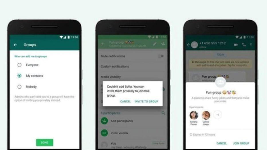 Cómo evitar que te agreguen sin tu permiso — Grupos de WhatsApp
