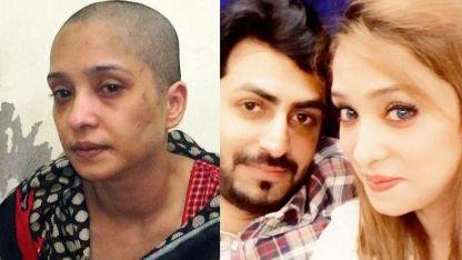 Tras el ataque, Asma Aziz pidió ayuda a través de las redes sociales.