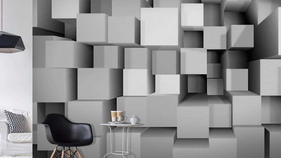Increíbles papeles murales con efecto 3D para decorar tu casa