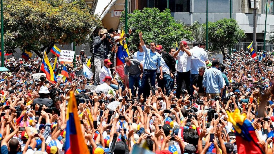 Arrestaron a dos diputados opositores durante protestas contra Maduro en Venezuela