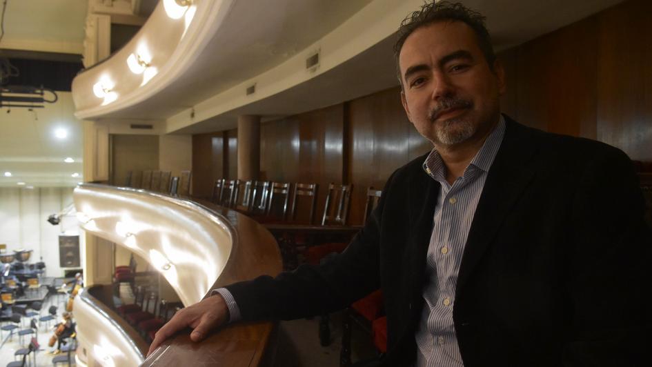 """César Iván Lara: """"Desde donde yo vengo, se cree desde niño en la música"""""""
