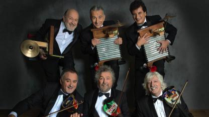 """Les Luthiers llegarán a finales de abril con su show """"Gran Reserva""""."""
