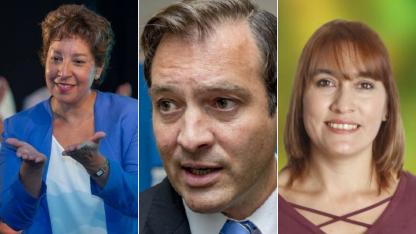 Carreras, Weretilneck y Soria, los candidatos a la gobernación de Río Negro.