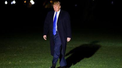 Donald Trump, presidente de Estados Unidos.