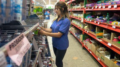Altos precios. Se negocia con los supermercados para que efectúen descuentos a los jubilados.