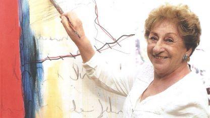 Blanca Ruiz. Artista mendocina radicada en Costa Rica.