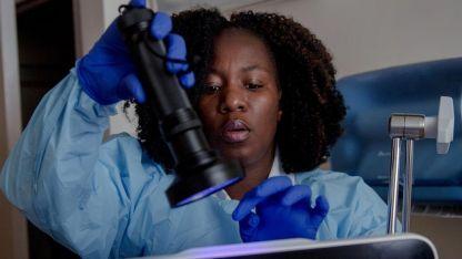 Debieron usar un equipamiento especial para poder erradicar al hongo del hospital.