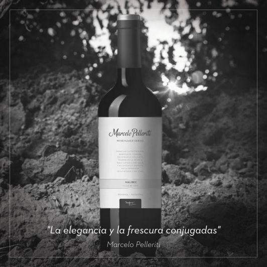 Winemaker Series Malbec 2017, el nuevo vino de Marcelo Pelleriti