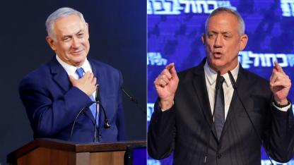 Netanyahu Con 69 años, mantiene el poder de forma ininterrumpida desde 2009. Gantz no es izquierdista sino un centrista moderado.