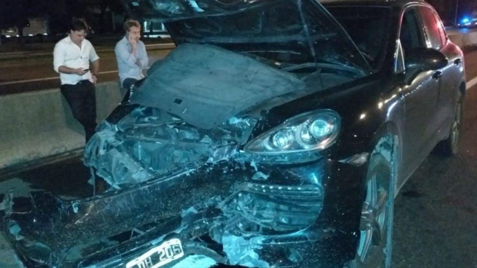 Ebrio chocó de atrás a un auto Uber y mató a la mujer que viajaba como pasajera