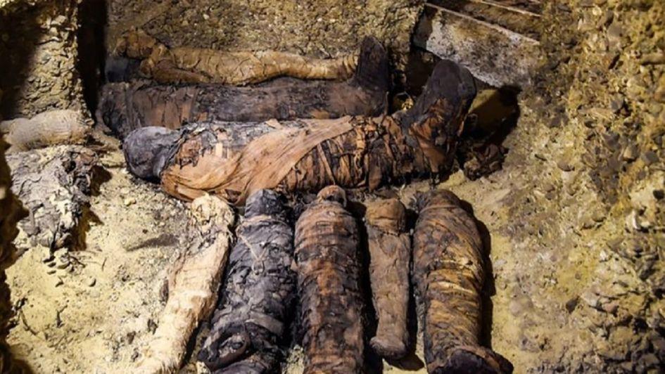 Abrieron un sarcófago egipcio de 2.500 años de antigüedad y el hallazgo fue sorprendente