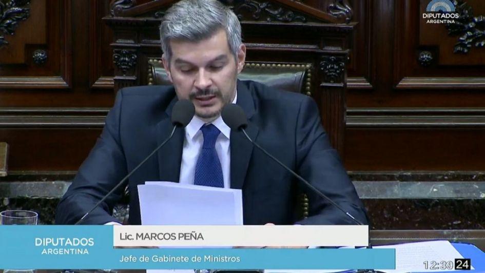 En vivo: Marcos Peña brinda su primer informe de gestión del año en Diputados