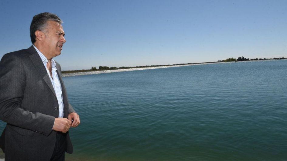 San Martín:así es la obra que inauguró Cornejo y que costó casi $1.000 millones