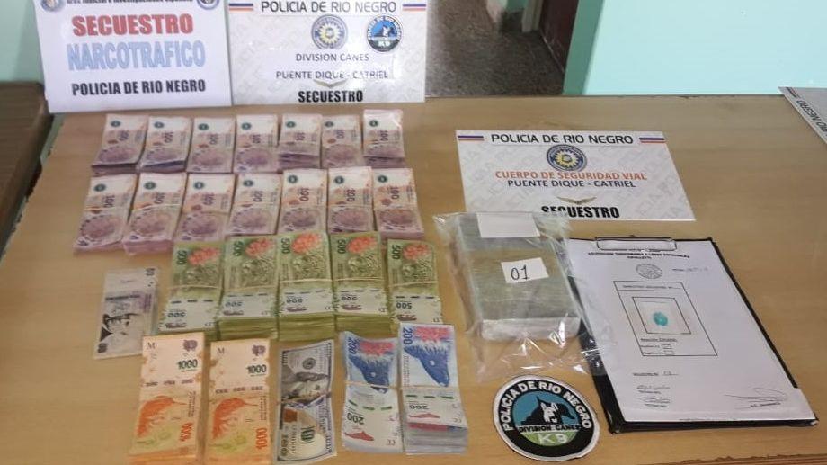 Detuvieron a un pastor evangélico con más de un kilo de cocaína y dinero falso en su auto