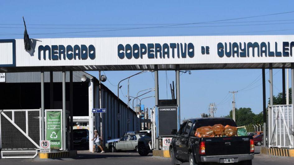 Robaron $ 200.000 cuando el Mercado Cooperativo de Guaymallén estaba lleno