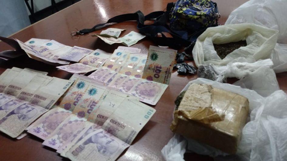 Operativos en el Gran Mendoza terminaron con detenidos, droga secuestrada e incidentes