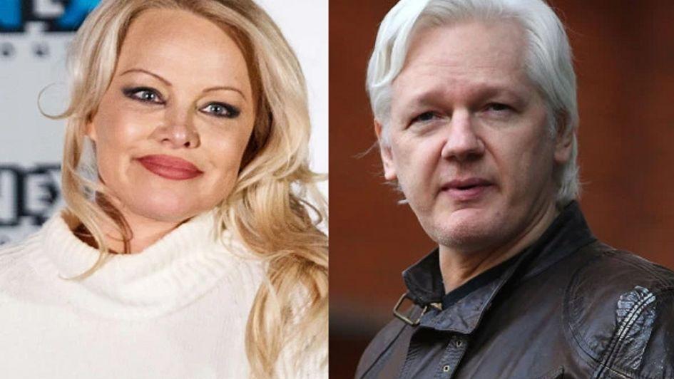 La grosera reacción de Pamela Anderson tras la detención de Julian Assange