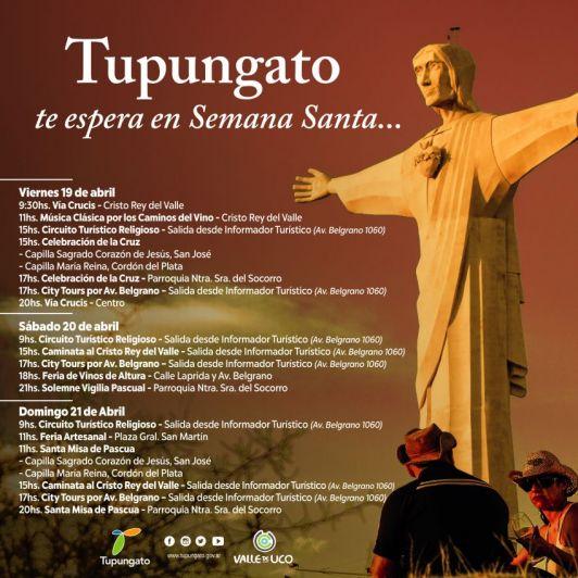 Tupungato se prepara para recibir a cientos de turistas por Semana Santa