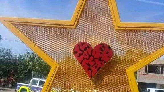 Vista Flores tendrá su primera estrella amarilla en honor al hijo de una referente social