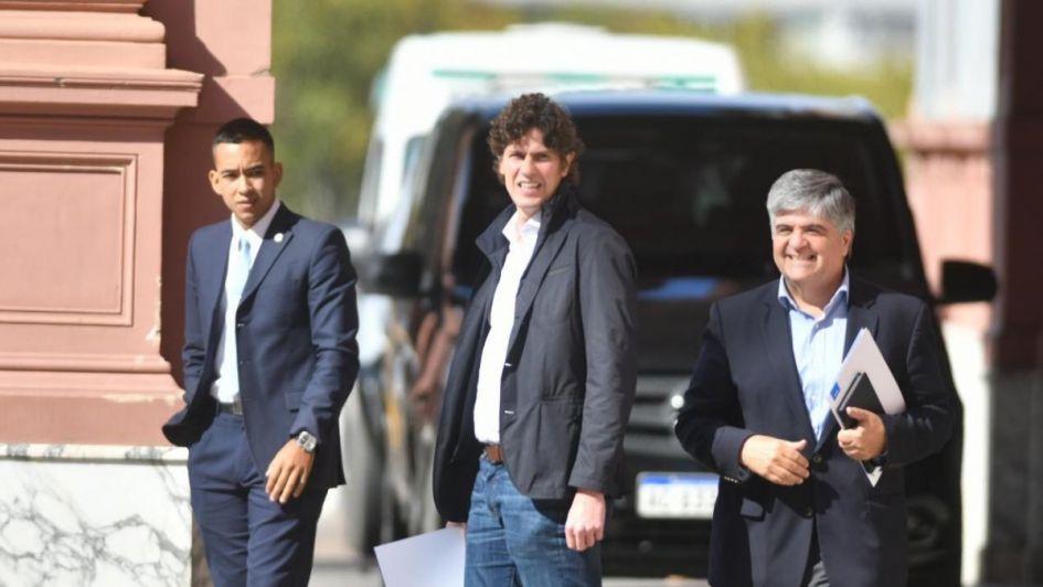 Sorpresiva cumbre de Macri y Lousteau en la Casa Rosada