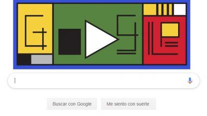 Con motivo de su centenario Google se sumó a los homenajes y le dedico un Doodle interactivo.