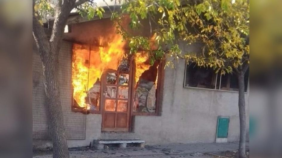 Intentó ahuyentar con humo las abejas e incendió su casa: terminó con graves quemaduras