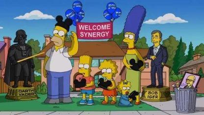 Los Simpson anunciaron su llegada a Disney