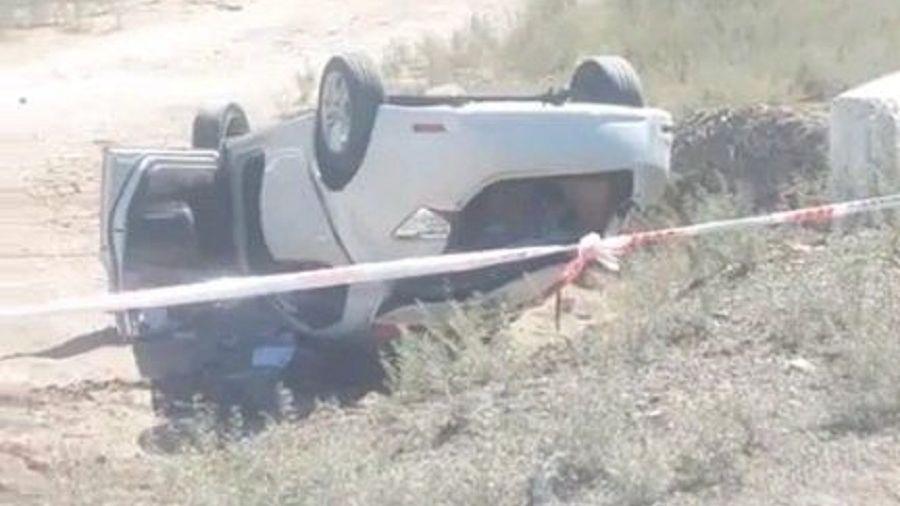 Un mendocino murió al volcar su auto sobre la ruta 40 en San Juan