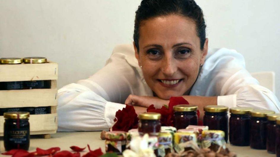 """Fernanda Piffaretti: """"El uso de pétalos no sólo es estético sino también nutritivo"""