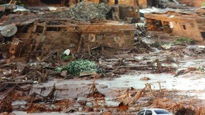 Colapso a gran escala. La ruptura de la presa de Brumadinho, en Minas Gerais, causó al menos la muerte de 170 personas.