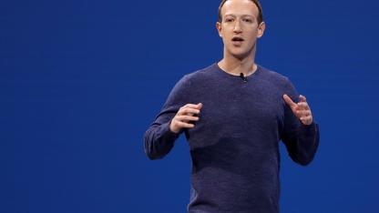 Zuckerberg. Sus representantes no acudieron a la audiencia.
