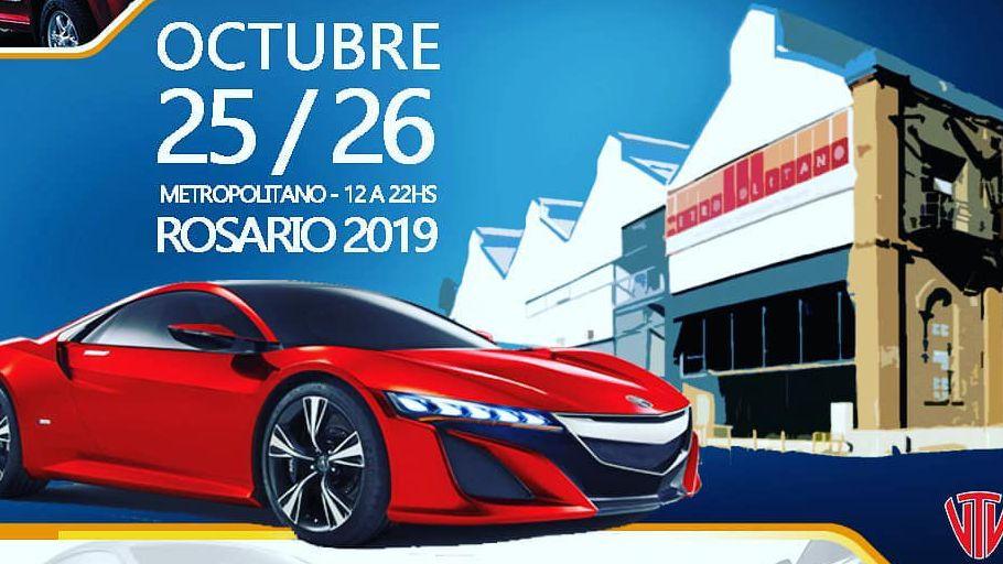 Para octubre el 1° Salón del Automóvil Rosario