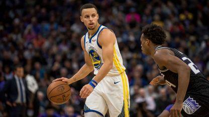 Stephen Curry, la carta ganadora de Golden State Warriors, que buscan gritar campeón por tercera vez consecutiva