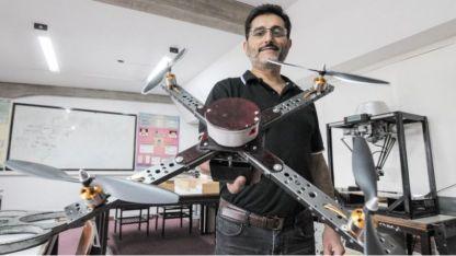 Roberto Haarth y el Laboratorio de Robótica, en la Facultad de Ingeniería
