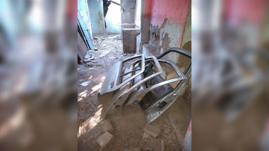 Secuestraron un auto desguazado y varias auto partes en Guaymallén