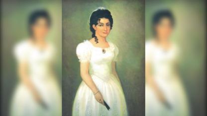 Imagen de Remedios Escalada, quien falleció a los 24.