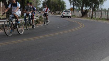 El motociclista perdió el control en una curva de la calle Severo del Castillo.