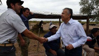 Cornejo participó del Día de Campo de la Fiesta Nacional de la Ganadería en donde realizó las declaraciones