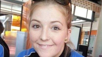 Natalie Kunici (23) paramédica en Londes.