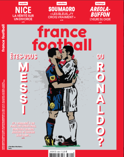 La audaz tapa de la revista France Football de la que habla todo el mundo