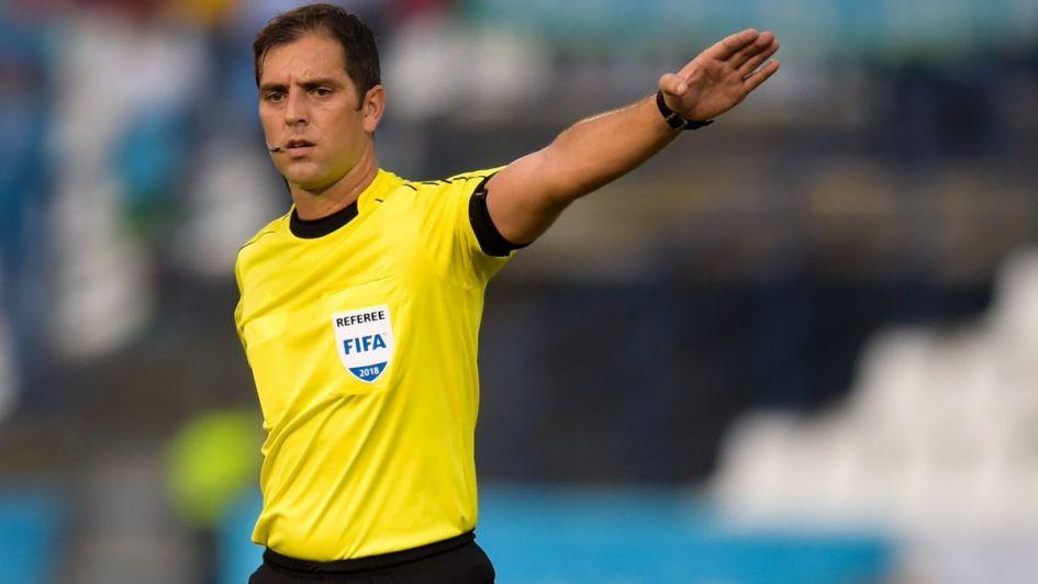 Fernando Echenique será el árbitro de la revancha en el Malvinas Argentinas