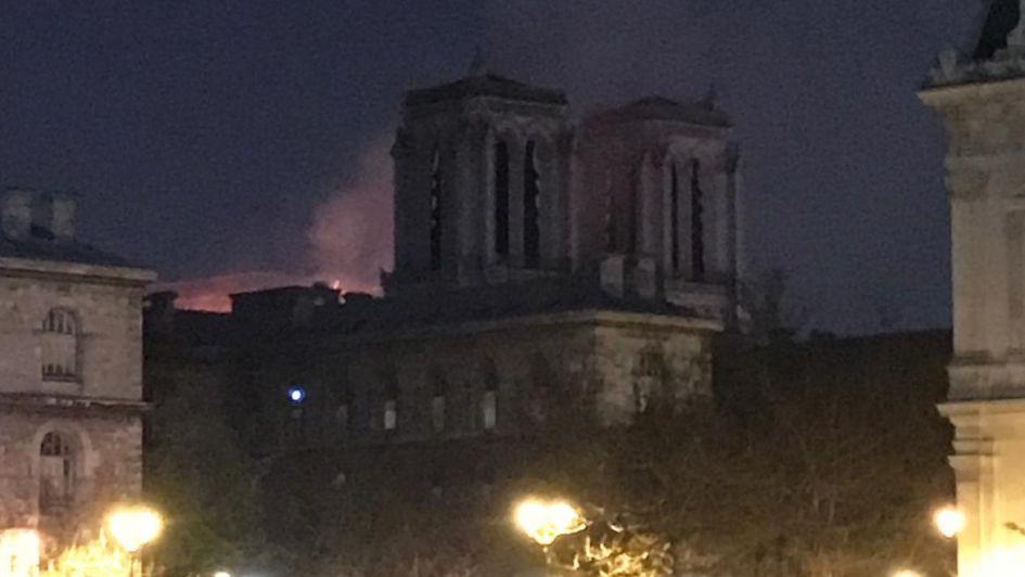Tres mendocinos que residen en París contaron cómo vivieron el incendio de Notre Dame