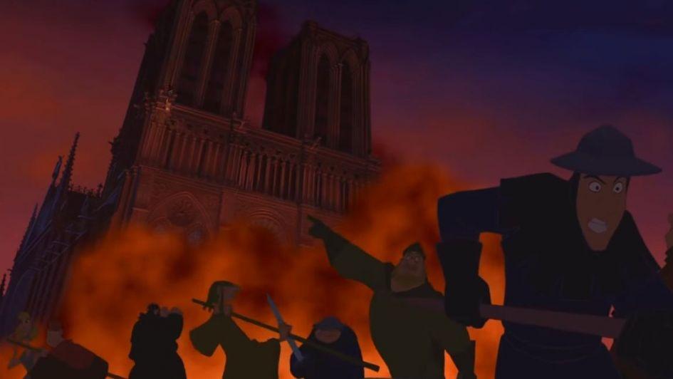 54eb73303 Furor en redes: Disney predijo el incendio de la Catedral de Notre Dame