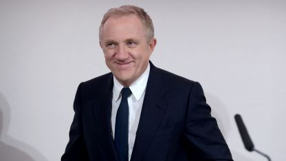 François-Henri Pinault está en pareja con Salma Hayek desde el 2009.