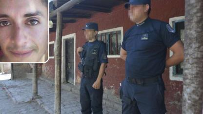 La finca de Álvarez en Guaymallén. Arriba, el joven condenado, Ezequiel Orozco.