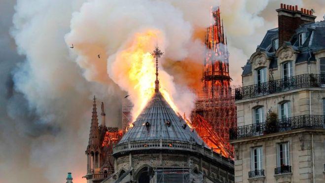 Dolor en el mundo motor por el incendio en la Catedral de Notre Dame